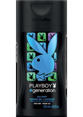 Playboy Herrendüfte Generation Shower Gel 250 ml