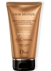 DIOR - DIOR Hautpflege Selbstbräuner und Sonnenpflege Dior Bronze Ultra Fresh Monoï Balm After Sun 150 ml - SELBSTBRÄUNER