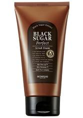 SKINFOOD Gesichtsreinigung Black Sugar Perfect Scrub Foam Gesichtspeeling 180.0 ml