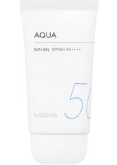 Missha All Around Safe Block Aqua Sun Gel SPF50+ Sonnenbalsam 50.0 ml