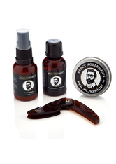 Percy Nobleman Pflegeprodukte Beard Wash 30 ml + Beard Conditioning Oil 30 ml + Moustache Wax 20 ml + Beard Comb 1 Stk. Bartpflege 1.0 st