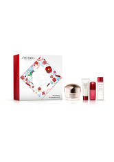 SHISEIDO - Shiseido Gesichtspflege Benefiance WrinkleResist 24 Geschenkset Day Cream 50 ml + Clarifying Cleansing Foam 15 ml + Treatment Softener 30 ml + Ultimune Power Infusing Concentrate 5 ml 1 Stk. - PFLEGESETS