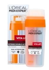 L'ORÉAL PARIS - L'Oréal Paris Men Expert Vita Lift Double Action Re-Tautening Moisturiser 30ml - GESICHTSPFLEGE