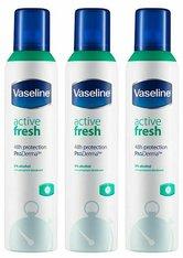 Vaseline Active Fresh ProDerma Anti Perspirant Deodorant 3 x 250ml