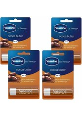 Vaseline Cocoa Butter Lip Therapy Balm Sticks 4 x 4g