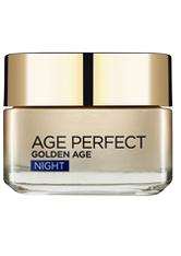 L'ORÉAL PARIS - L'Oréal Paris Age Perfect Golden Age Night Cream Moisturiser 50ml - Nachtpflege