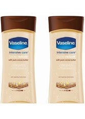 Vaseline Essential Moisture Cocoa Radiant with Pure Cocoa Butter 2 x 200ml