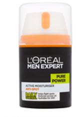 """L'ORÉAL PARIS - L'Oréal Paris Men Expert """"Pure Power"""" Aktiver Feuchtigkeitsspender 50 ml - Gesichtspflege"""