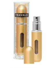 TRAVALO - Travalo Classic HD Atomiser Spray Bottle - Gold (5 ml) - PARFUM