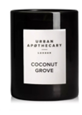 URBAN APOTHECARY - Urban Apothecary London Coconut Grove Luxury Mini Candle 70g - DUFTKERZEN