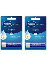 Vaseline Original Lip Therapy Balm Sticks 2 x 4g