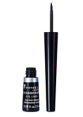 Rimmel Exaggerate Liquid Eyeliner 2.5ml 100% Black - RIMMEL