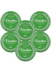 Vaseline Lip Therapy Petroleum Jelly Aloe Vera 6 x 20g