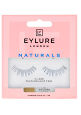EYLURE - Eylure Naturalite Strip Eyelashes No. 020 (Natural Volume) - FALSCHE WIMPERN & WIMPERNKLEBER