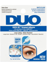 DUO - Ardell Duo Striplash Adhesive Glue 7g - White/Clear - FALSCHE WIMPERN & WIMPERNKLEBER