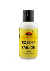 EMU OIL WELL - Emu Oil Well Rosehip Emu Oil 50ml - GESICHTSÖL