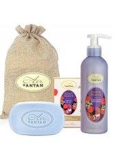 Un Air d'Antan Bath & Body Set Douce France, Bar Soap 100g + Body Lotion 200ml