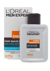 L'Oréal Paris Men Expert Hydra Energetic Post-Shave Gel Ice-Cool Soothing Effect 100ml