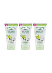 Simple Kind to Skin Refreshing & Moisturising Face Wash 3 x 150ml