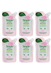 Simple Kind to Skin Moisturising Facial Wash Pouch 6 x 50ml