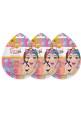 yes to Grapefruit Vitamin C Glow-Boosting Unicorn Single Use Peel-Off Mask (Pack of 3)