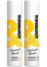 Toni & Guy Illuminate Blonde Shampoo 250ml & Conditioner 250ml