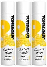 Toni & Guy Illuminate Blonde Shampoo 3 x 250ml