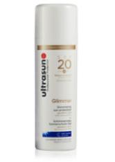 Ultrasun Sensitive Medium SPF20 Glimmer Formula 150ml