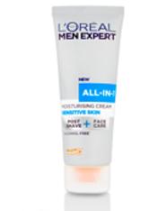 L'ORÉAL PARIS - L'Oréal Paris Men Expert All-in-1 Moisturising Cream for Sensitive Skin 75ml - Gesichtspflege