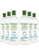 Simple Kids Hypoallergenic Bubble Bath 6 x 400ml