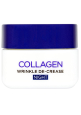 L'Oréal Paris Dermo-Expertise Wrinkle De-Crease Collagen Re-Plumper Night Cream with Collagen 50ml