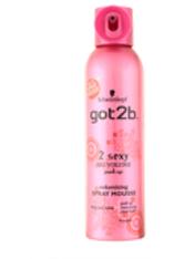 Schwarzkopf got2b 2sexy Spray Mousse 250ml