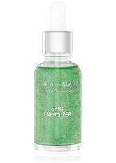 FLORA MARE - FLORA MARE Gesichtsserum »Skin Energizer«, grün, 30 ml, apfelgrün - SERUM