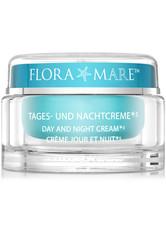 FLORA MARE - FLORA MARE Anti-Aging-Creme »Tages- und Nachtcreme«, blau, 100 ml, aquablau - TAGESPFLEGE