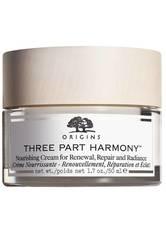 Origins Gesichtspflege Feuchtigkeitspflege Three Part Harmony Nourishing Cream For Renewal, Repair And Radiance 50 ml