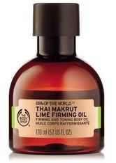 THE BODY SHOP - Spa Of The World™ Thai Makrut Lime Firming Oil 170 ML - Gesichtsöl