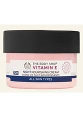 THE BODY SHOP - Vitamin E Nachtcreme 50 ML - NACHTPFLEGE