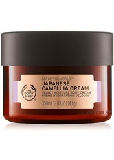 THE BODY SHOP - Spa Of The World™ Japanese Camellia Cream 350 ML - Tagespflege