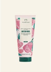 British Rose Lotion-milch 200 ML