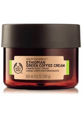 THE BODY SHOP - Spa Of The World™ Ethiopian Green Coffee Cream 350 ML - Tagespflege