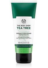 THE BODY SHOP - THE BODY SHOP Tea Tree Squeaky-Clean Scrub 100 ml - PEELING