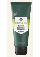 Green Tea & Lemon Mattierende Feuchtigkeitscreme Für Männer 100 ML