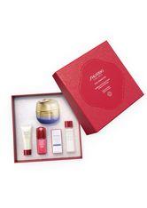 Shiseido Vital Perfection Uplifting and Firming Cream 50 ml + Clarifying Cleansing Foam 15 ml + Treatment Softener 30 ml + Ultimune Power Infusing Concentrate 10 ml + Uplifting and Firming Ey