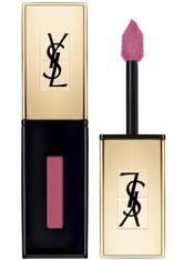Yves Saint Laurent Lippen Rouge pur Couture Vernis à Lèvres Lipgloss (Farbe: Rose Vinyl [15], 6 ml)