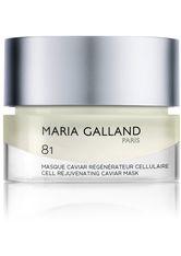 Maria Galland 81 Masque Caviar Régénérateur Cellulaire 50 ml Gesichtsmaske