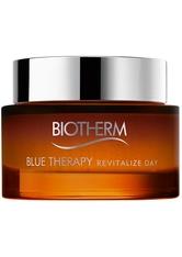 Biotherm Blue Therapy - Regeneriert Zeichen der Hautalterung Amber Algae Revitalize Day Cream Gesichtscreme 75.0 ml