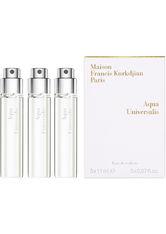 Maison Francis Kurkdjian - Aqua Universalis – Bergamotte & Weiße Blüten, 3 X 11 Ml – Reiseset Aus Eaux De Toilette - one size