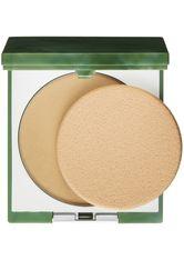 CLINIQUE - Clinique Puder Superpowder Double Face Powder (Farbe: Matte Honey [4], 10 g) - GESICHTSPUDER