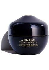 Shiseido Feuchtigkeitspflege Future Solution LX Total Regenerating Body Cream Körpercreme 200.0 ml