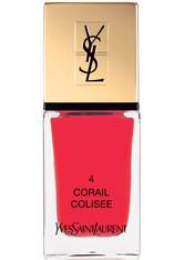 Yves Saint Laurent Spring Look 2017; Spring Look 2016; Nägel La Laque Couture 10 ml Corail Colisée